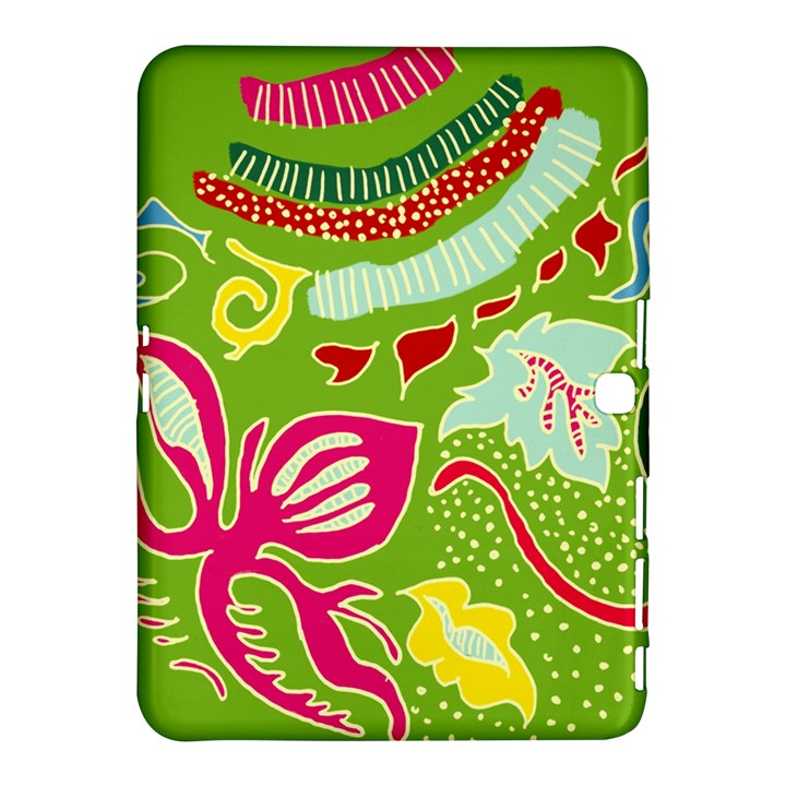 Green Organic Abstract Samsung Galaxy Tab 4 (10.1 ) Hardshell Case