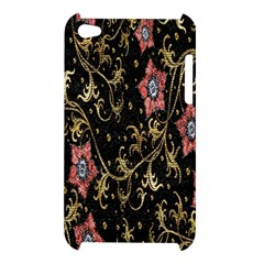 Floral Pattern Background Apple iPod Touch 4