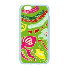 Green Organic Abstract Apple Seamless iPhone 6/6S Case (Color)