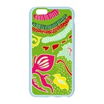 Green Organic Abstract Apple Seamless iPhone 6/6S Case (Color) Front