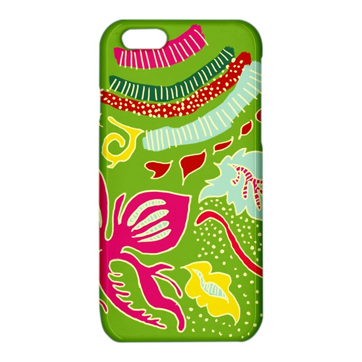Green Organic Abstract iPhone 6/6S TPU Case