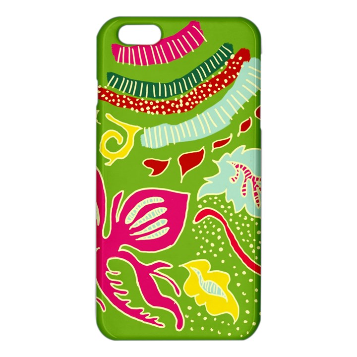 Green Organic Abstract iPhone 6 Plus/6S Plus TPU Case