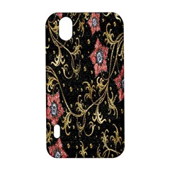 Floral Pattern Background LG Optimus P970