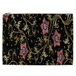Floral Pattern Background Cosmetic Bag (XXL)  Front