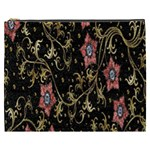 Floral Pattern Background Cosmetic Bag (XXXL)  Front