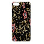 Floral Pattern Background Apple iPhone 5 Seamless Case (White) Front