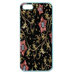 Floral Pattern Background Apple Seamless iPhone 5 Case (Color) Front