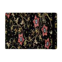 Floral Pattern Background Apple iPad Mini Flip Case