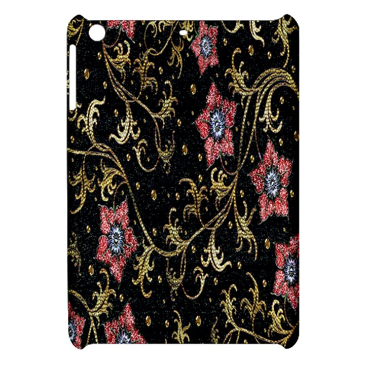 Floral Pattern Background Apple iPad Mini Hardshell Case
