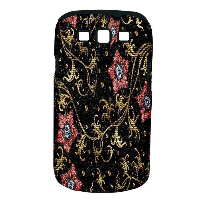 Floral Pattern Background Samsung Galaxy S III Classic Hardshell Case (PC+Silicone)
