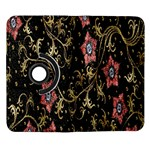 Floral Pattern Background Samsung Galaxy Note II Flip 360 Case Front