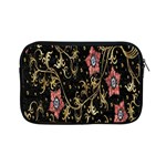 Floral Pattern Background Apple iPad Mini Zipper Cases Front