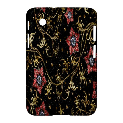 Floral Pattern Background Samsung Galaxy Tab 2 (7 ) P3100 Hardshell Case