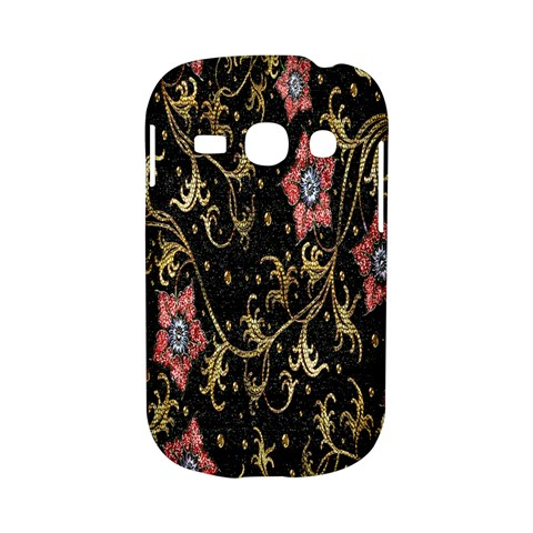 Floral Pattern Background Samsung Galaxy S6810 Hardshell Case