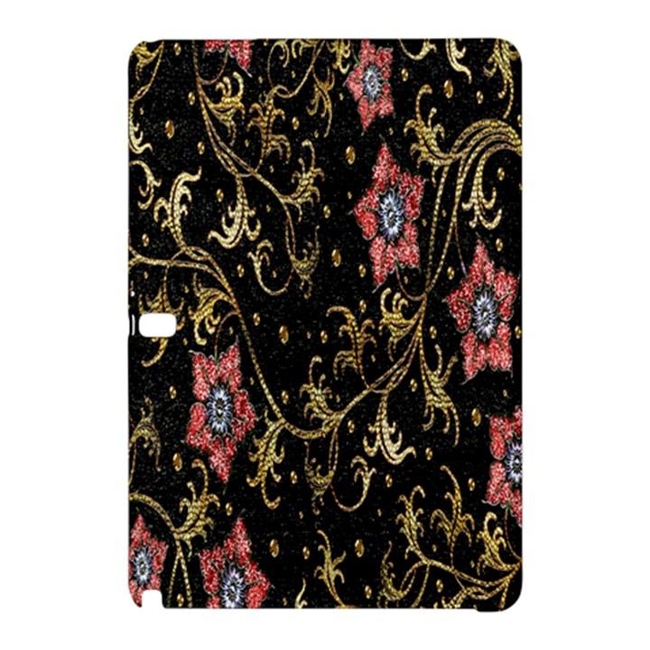 Floral Pattern Background Samsung Galaxy Tab Pro 12.2 Hardshell Case