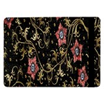 Floral Pattern Background Samsung Galaxy Tab Pro 12.2  Flip Case Front