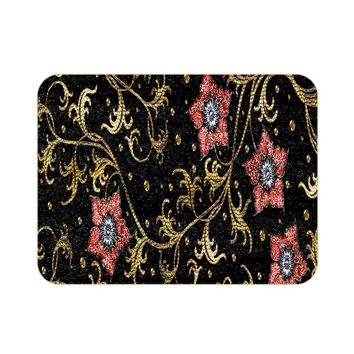 Floral Pattern Background Double Sided Flano Blanket (Mini)