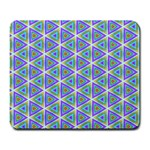 Colorful Retro Geometric Pattern Large Mousepads Front