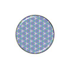 Colorful Retro Geometric Pattern Hat Clip Ball Marker