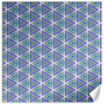 Colorful Retro Geometric Pattern Canvas 12  x 12   12 x12 Canvas - 1