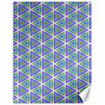 Colorful Retro Geometric Pattern Canvas 12  x 16   16 x12 Canvas - 1