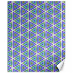Colorful Retro Geometric Pattern Canvas 16  x 20   20 x16 Canvas - 1