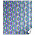 Colorful Retro Geometric Pattern Canvas 20  x 24   24 x20 Canvas - 1