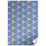Colorful Retro Geometric Pattern Canvas 20  x 30   30 x20 Canvas - 1