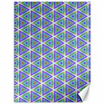 Colorful Retro Geometric Pattern Canvas 36  x 48   48 x36 Canvas - 1