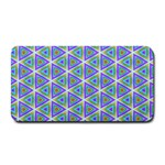 Colorful Retro Geometric Pattern Medium Bar Mats 16 x8.5 Bar Mat - 1