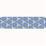 Colorful Retro Geometric Pattern Large Bar Mats 34 x9.03 Bar Mat - 1