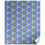 Colorful Retro Geometric Pattern Canvas 11  x 14   14 x11 Canvas - 1