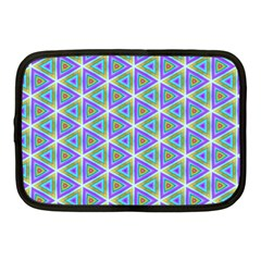 Colorful Retro Geometric Pattern Netbook Case (medium)