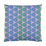 Colorful Retro Geometric Pattern Standard Cushion Case (Two Sides) Front