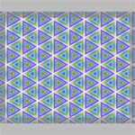 Colorful Retro Geometric Pattern Canvas 20  x 16  20  x 16  x 0.875  Stretched Canvas
