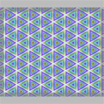 Colorful Retro Geometric Pattern Canvas 24  x 20  24  x 20  x 0.875  Stretched Canvas