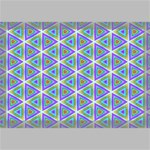 Colorful Retro Geometric Pattern Canvas 18  x 12  18  x 12  x 0.875  Stretched Canvas