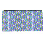 Colorful Retro Geometric Pattern Pencil Cases Front