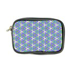 Colorful Retro Geometric Pattern Coin Purse Front