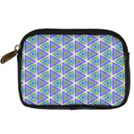 Colorful Retro Geometric Pattern Digital Camera Cases Front