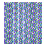 Colorful Retro Geometric Pattern Shower Curtain 66  x 72  (Large)  58.75 x64.8 Curtain