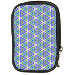 Colorful Retro Geometric Pattern Compact Camera Cases Front