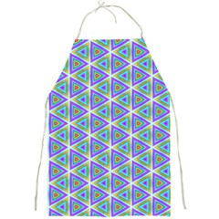 Colorful Retro Geometric Pattern Full Print Aprons