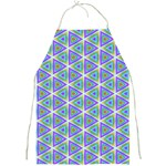 Colorful Retro Geometric Pattern Full Print Aprons Front