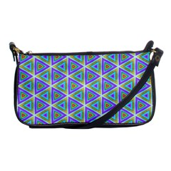 Colorful Retro Geometric Pattern Shoulder Clutch Bags