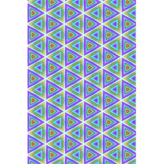 Colorful Retro Geometric Pattern 5.5  x 8.5  Notebooks