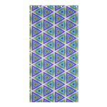 Colorful Retro Geometric Pattern Shower Curtain 36  x 72  (Stall)  33.26 x66.24 Curtain