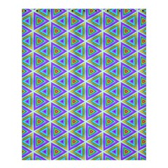 Colorful Retro Geometric Pattern Shower Curtain 60  x 72  (Medium)