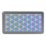 Colorful Retro Geometric Pattern Memory Card Reader (Mini) Front