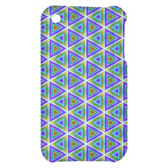 Colorful Retro Geometric Pattern Apple iPhone 3G/3GS Hardshell Case